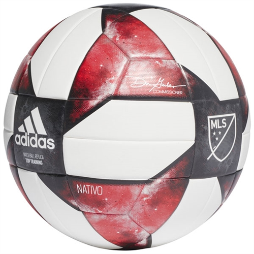 adidas MLS NFHS Top Training Soccer Ball 2019 DN8697