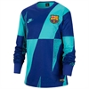 Nike Barcelona Youth Dry Pre Match Crew Long Sleeve Top 2019 BV2589-313