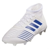 adidas Predator 19.2 FG - Cloud White/Bold Blue D97941