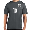 NXT Joga Bonito Training Shirt - Iron Grey NCT-ST350-IG