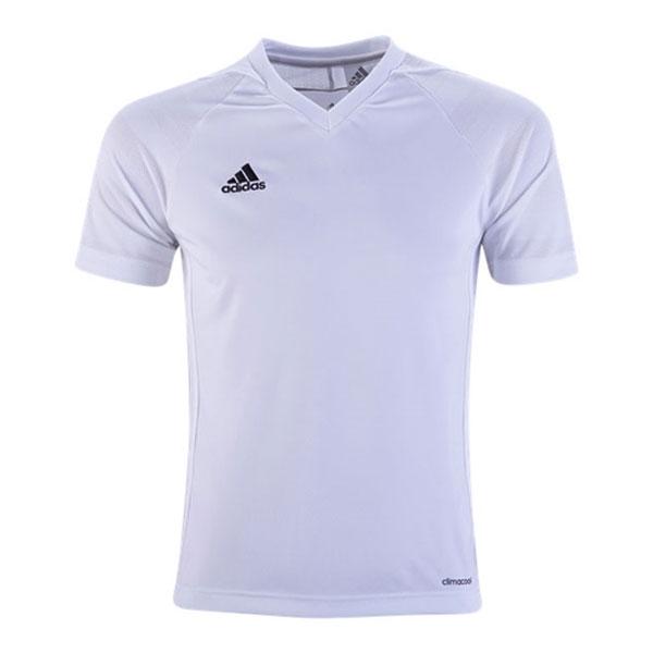 adidas Youth Tiro 17 Jersey - White/White BJ9111 - AuthenticSoccer.com