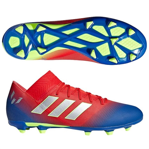 adidas Nemeziz Messi 18.3 FG - Active Red/Football Blue BC0316