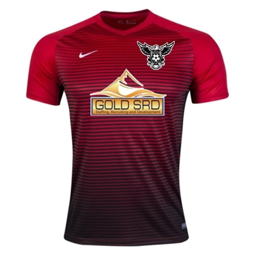 ee76fe543 North Texas United FC Nike Precision IV Jersey - Red/Black TUFC-886828-