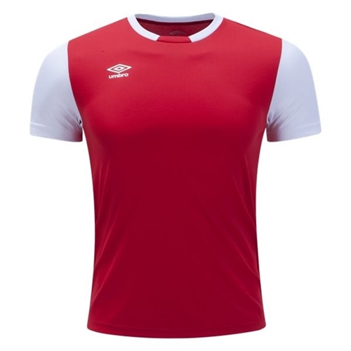 Umbro Men's Block Jersey - Red UUM1UAL0-UDG