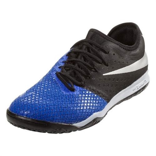 Nike Zoom Hypervenom PhantomX III Pro IC - Racer Blue/Metallic Silver Indoor