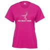 Badger Kick Breast Cancer Women's Tee - Hot Pink 4160HPW