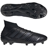 adidas Predator 19.1 Leather FG - Core Black/Core Black EG7870