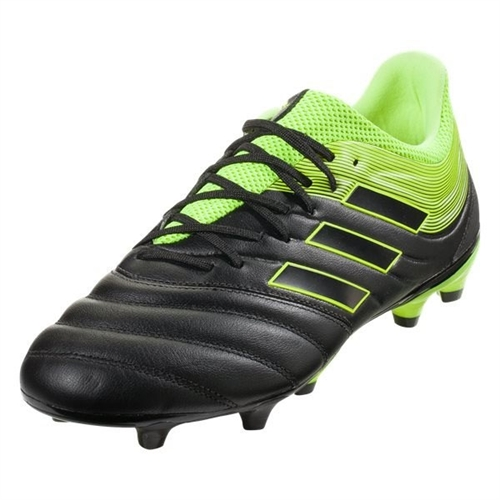 adidas Copa 19.3 FG - Core Black/Solar Yellow BB8090