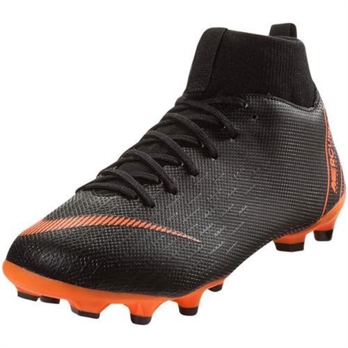 buy online 20188 a769a Nike Junior Mercurial SuperFly VI Academy MG - Black/Total Orange AH7337-081