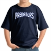 PBG Predators Youth T-Shirt - Navy 5000B-PBG