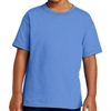 Gildan 5000 Cotton Youth T-Shirt - Light Blue 5000B-LghtBlu