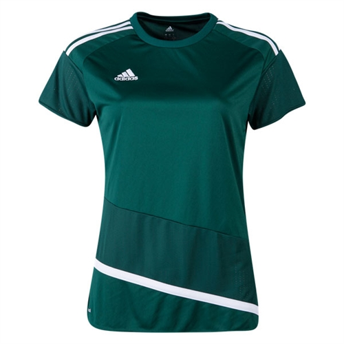 adidas Women's Regista 16 Jersey - Collegiate Green/White AP0541