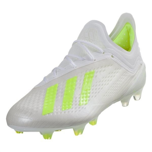 8edbbcccc adidas X 18.1 FG - Cloud White/Solar Yellow BB9348