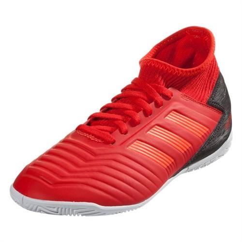 4addf2d43244 adidas Junior Predator Tango 18.3 IN - Active Red/Solar Red/Core Black  Indoor