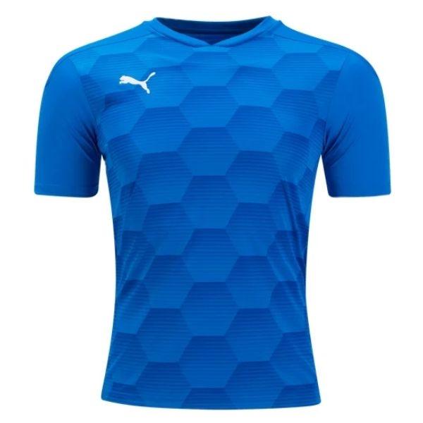 Puma Team Final 21 Graphic Jersey - Electric Blue/Team Power Blue
