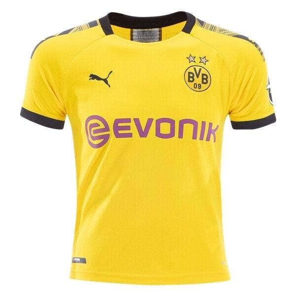 Puma Borussia Dortmund Youth Home Jersey 2019 2020 755738 01 Authenticsoccer Com