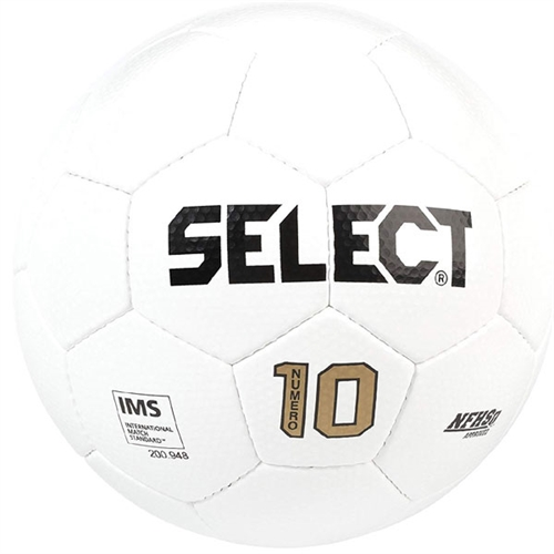 Select Numero 10 Ball IMS - NFHS Approved - All White 0275150117010201