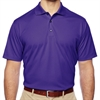 adidas Men's Basic Short Sleeve Polo - Purple A130P
