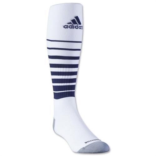 4506bf2d6973 adidas Team Speed Soccer Sock - White Navy - 5130196WhiNav ...