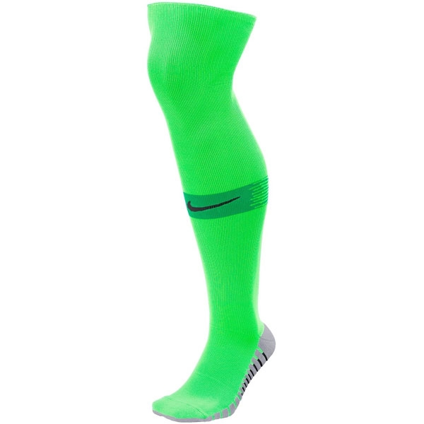 Nike Team Match Fit Over The Calf Socks - Neon Green SX6836-398