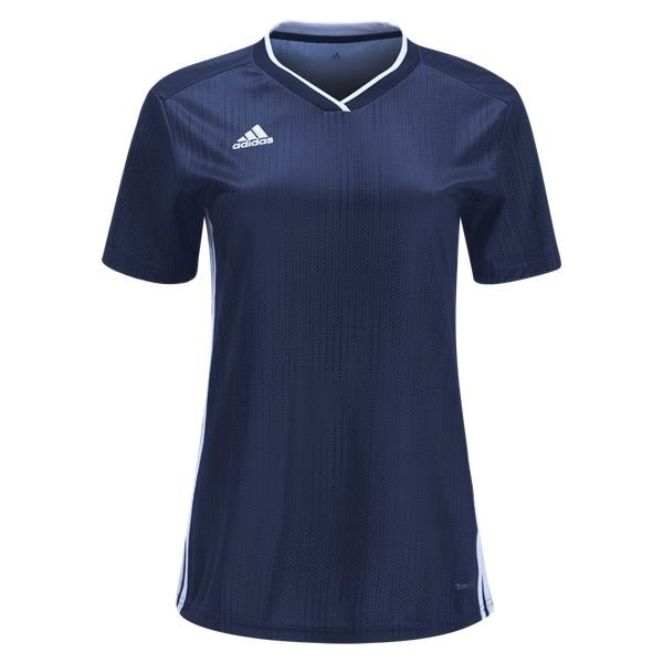 adidas Women's Tiro 19 Jersey - Dark Blue/White DP3186