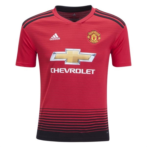 adidas Manchester United Youth Home Jersey 2018-2019 CG0048