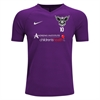 North Texas United FC Nike Tiempo Premier Jersey - Purple/White 894293-547-NTUFC