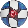 adidas MLS Top Capitano Soccer Ball - White/Black/Football Blue DN8696