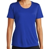 Sport Tek Women's Performance Shirt - Blue LST350-Blu