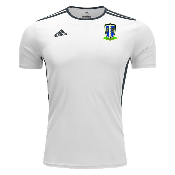 Coral Springs United adidas Youth Entrada 18 Jersey - White/Black