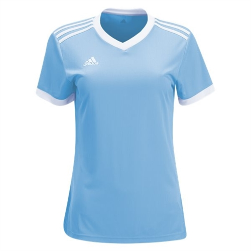 adidas Women's Tabela 18 Jersey - Clear Blue/White CE4909