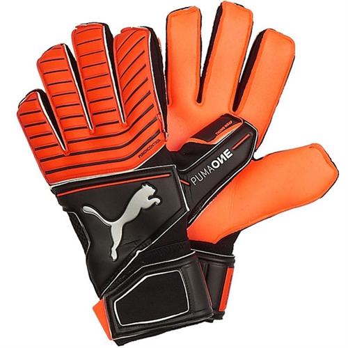 bcf3a8da94bb Puma One Protect 18.2 RC Goalkeeper Gloves - Red Blast/Puma Black 041440-22