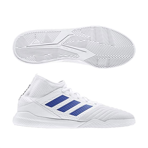 limited guantity factory authentic where to buy adidas Predator 19.3 Training Shoes - Cloud White/Bold Blue