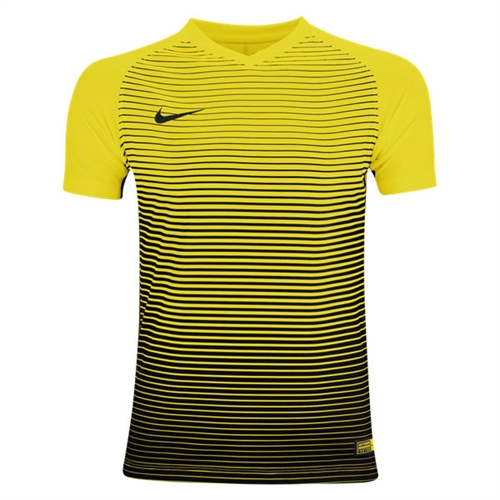 Nike Youth Precision IV Jersey - University Gold/Black 886830-739