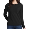 Gildan 5400L Cotton Women's Long Sleeve T-Shirt - Black 5400LBlk