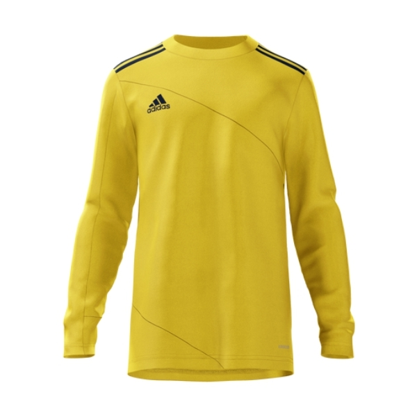 adidas Mi Squadra 21 Goalkeeper Jersey - Yellow/Navy