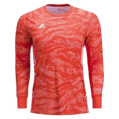 adidas adiPro 19 Youth Goalkeeper Jersey - Semi Solar Red DP3142