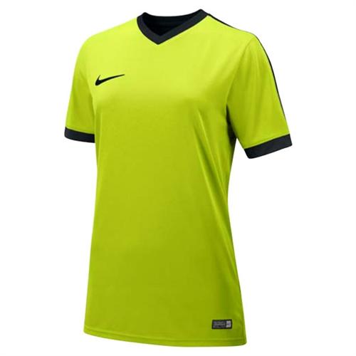 buy online efaa0 da34e Nike Womens SS Striker IV Jersey - Neon 725950Neo