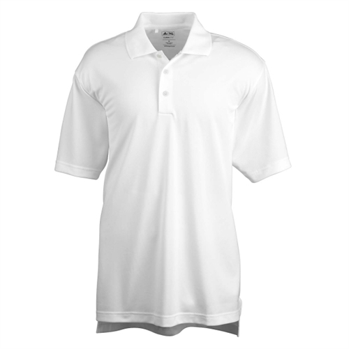 adidas Men's Basic Short Sleeve Polo - White A130W