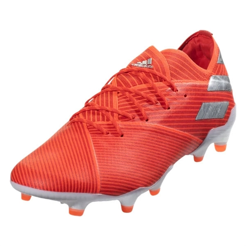 adidas Nemeziz 19.1 FG - Active Red/Silver Metallic F34408