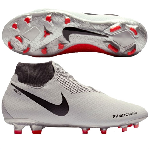 Nike Phantom Vision Pro DF FG - Pure Platinum/Light Crimson AO3266-060