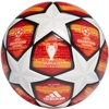 adidas UCL Finale Madrid Top Training Soccer Ball - White/Active Red/ Solar Red DN8676