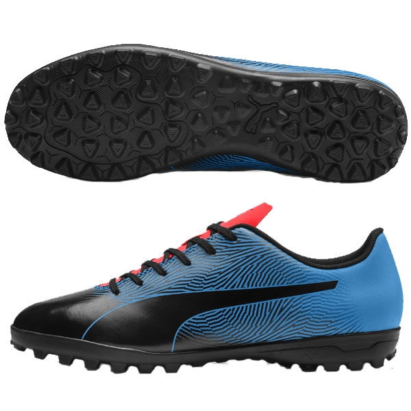 Puma Spirit II TF - Black/Blue Azur Turf 105523-01