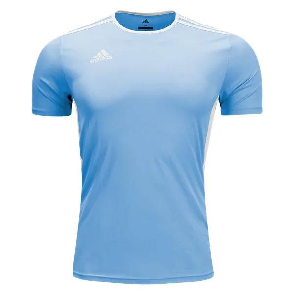 adidas Entrada 18 Jersey - Light Blue/White CD8414 ...