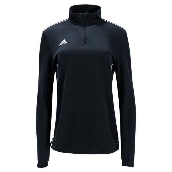 adidas Women's Core 18 Training Top - Black/White CY8268 ...