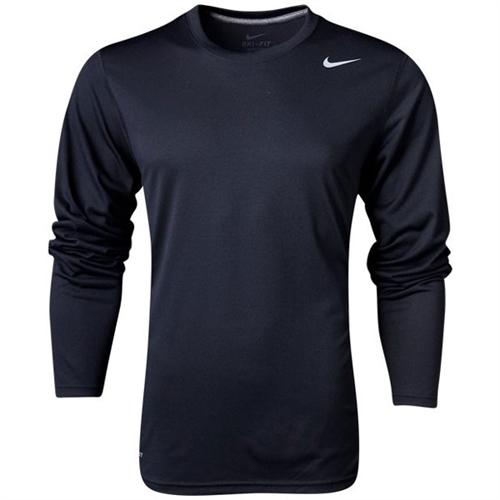 a330173763b Nike Team Legend Top Long Sleeve - Black/Cool Grey