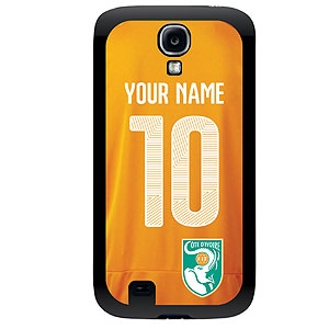 Ivory Coast Custom Player Phone Cases - Samsung (All Models) sms-ivcs-plyr