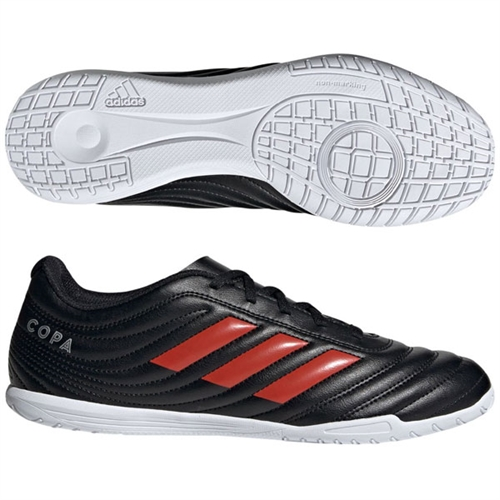 adidas Copa 19.4 IN - Black/Red Indoor F35486
