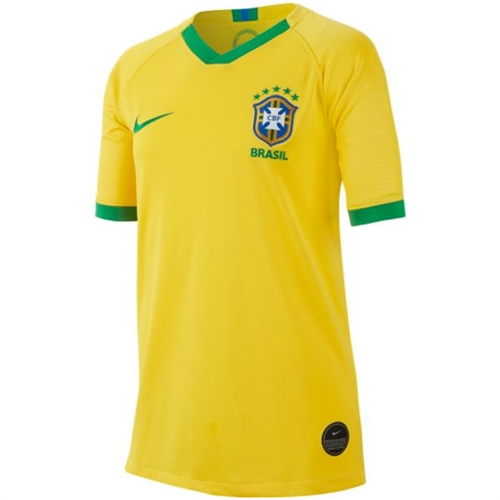 Nike Brasil Youth Home Jersey 2019 AJ4440-749