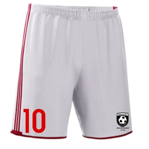 Massive adidas Boy's Condivo Short - White/Red MassAdiConSho
